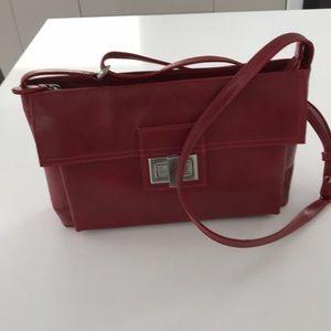 NWOT Derek Alexander vintage genuine leather purse